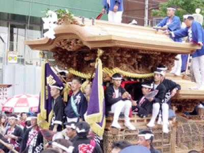 007 岸和田だんじり祭(大阪府)(2002/10/17up)