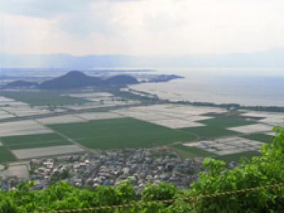 017 琵琶湖 八幡山(滋賀県近江八幡市)(2006/05/18up)