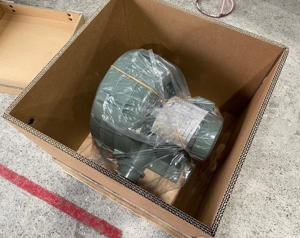 合板と強化段ボールの特性を併せ持った梱包をご提供しております。