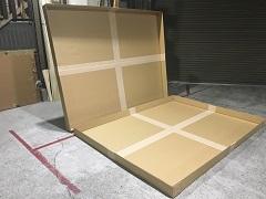 特殊ケース(4枚の板を張り付けて2M角以上の箱を作製